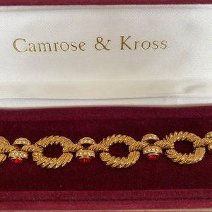 Camrose & Kross 24KGP Jacquie Kennedy Bracelet